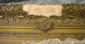 Art Frame Restoration - Before