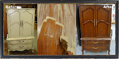 How To Refinish An Armoire