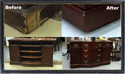How To Refinish A Mahogany Buffet