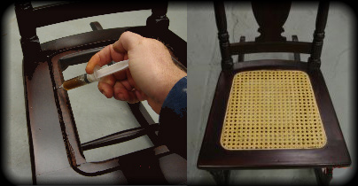 How To Cane A Chair Seat