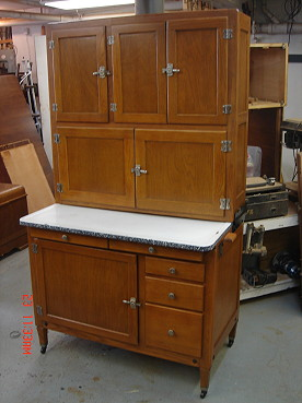 How To Refinish And Restore A Hoosier Cabinet