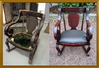 How To Refinish A Rocking Chair