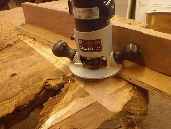 How to make a table out of a wood slab